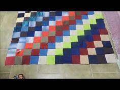 Vídeo Aula- Tapete com retalhos