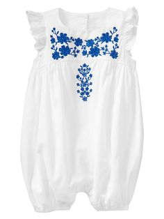 Embroidered onesie for the little ones:) I just bought this for Baby Lillian...first granddaughter due May 22:)