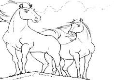 Ausmalbilder Pferde A4                                                                                                                                                                                 Mehr