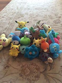 pokemon plush lot of 20