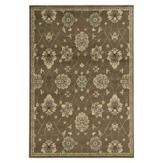 Style Haven Casual Floral Brown/ Beige Area Rug x (Machine-made X Polypropylene Area Rug), Size: x Multi, Size x Floral Area Rugs, Beige Area Rugs, Beige Background, Rectangular Rugs, Brown Floral, Brown Beige, Gray, Online Home Decor Stores, Throw Rugs