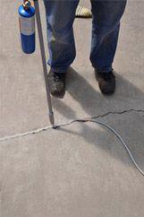 Crack-Stix 125ft. MEDIUM GRAY Permanent Concrete / Asphalt Joint & Crack Filler | Latexite