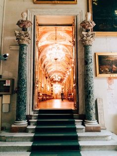 Entrance to Sala Aldobrandini, Palazzo Doria Pamphilj, Rome