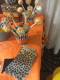 Bamm Bamm Baby Shower Party Ideas | Photo 1 of 19