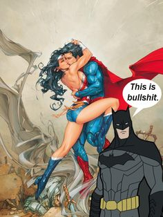 kookynerd:  Batman is not happy.