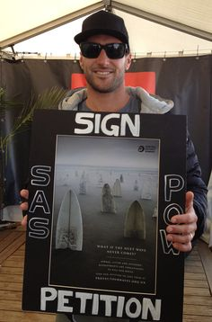 Joel Parkinson supporting the Protect Our Waves Petition: http://www.protectourwaves.org.uk