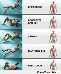 Abs - work every part of them