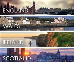 England - Wales - Ireland - Scotland I will make this trip Oh The Places You'll Go, Places To Travel, Places To Visit, Travel Destinations, Wales, England Uk, England Ireland, Album, Adventure Is Out There