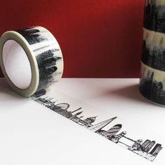London Skyline Decorative Sticky Tape - $30