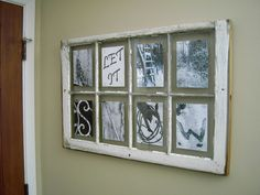 """""""Let It Snow"""" Window I got for Christmas from Linda <3"""