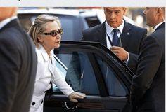 Hilary Clintons rude treatment of her secret service.