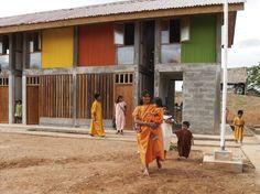School in Chuquibambilla / AMA + Bosch Arquitectos
