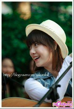 Koo Hye Sun in hats & hoodies