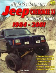 High Performance Jeep Cherokee Xj Builder's Guide 1984 2001 (s A Design) Jeep Xj Mods, Jeep Cherokee Sport, 2001 Jeep Cherokee, Jeep Parts, Jeep Accessories, Jeep Truck, Jeep Jeep, Wheels And Tires, Jeep Life