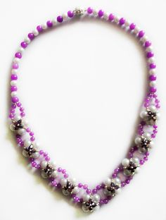 Free pattern for necklace Fary Dance