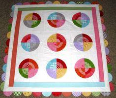 Going in Circles! Bullseye Baby Quilt