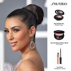 Kim Kardashian Grammy Makeup Look From Shiseido
