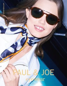 Katja Rawles photographs with makeup from Georgina Graham the new Paul&Joe campaign, Spring/Summer 2015