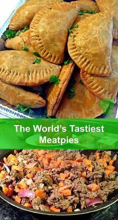 only are these meatpies tasty, but also, they are healthy and high in fiber! win-win-winNot only are these meatpies tasty, but also, they are healthy and high in fiber! Meat Recipes, Mexican Food Recipes, Cooking Recipes, Curry Recipes, Cooking Stuff, Sushi Recipes, Hallowen Food, Good Food, Beef Recipes