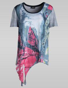 Junges Trend-Shirt,pazifik Ringel