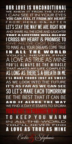 I Cross My Heart George Straight PRINTABLE by BonTempsBeignet