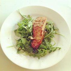 Spicy-Sweet Glazed Salmon Allrecipes.com
