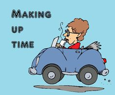 Nickers and Ink: Making up time sometimes ain't pretty
