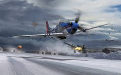 """North American P51-D Mustang """"This is it"""""""