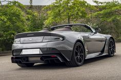 The one-off Vantage GT12 Roadster. A tailor made customer commission undertaken by Q by Aston Martin and the most extreme roadster we've ever produced