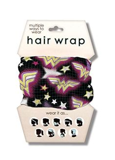 Spoontiques Wonder Woman Hair Wrap *** Details can be found by clicking on the image.(This is an Amazon affiliate link)