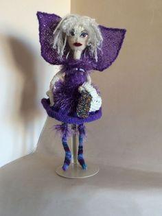 Knitting fairy won a prize
