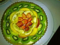 cozinha talento: Receita  para diabeticos de tarte de frutas fresca...