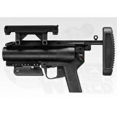 Toyko Marui M320A1 Airsoft Grenade Launcher Airsoft Grenade, Airsoft Gear, Tactical Gear, Iron Sights, Shotguns, Hunting Guns, Weapons, Hunting Rifles, Shotgun