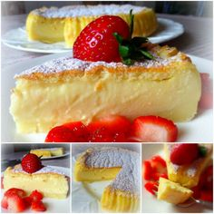 Magic Custard Cake Vanilla
