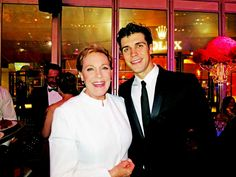 The legendary Julie Andrews and the ABT star Roberto Bolle meet up at the LA Phil 2012 Opening Night Gala