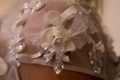 Christophe Josse dress details at the atelier in Paris