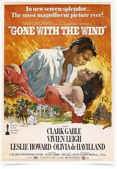 Poster Cinema Filme Gone With The Wind - Decor10