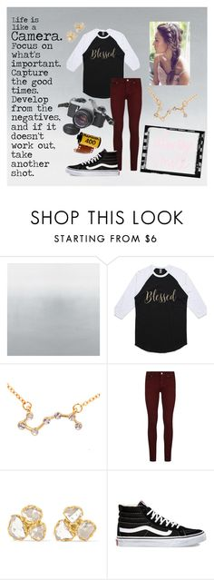 """Eyes like a shutter, Mind like a lens"" by emmaerice ❤ liked on Polyvore featuring Paige Denim, Pippa Small, Vans and Pentax"