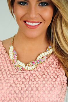 Knot For You Necklace: Multi