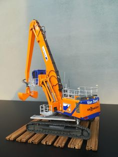 Moving Trucks, Model Building Kits, Digger, Diecast, Construction, Toys, Toddler Arts And Crafts, Mockup, Wooden Crafts