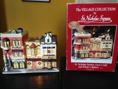 Christmas Village St.Nicholas Square Gazette,Coco's Cafe and Winter's Bakery
