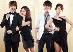 Great shot of Yoon-eun-Hye and fellow actors.