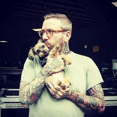 Dallas Green (City and Colour). He truly has a voice of an angel and his lyrics are deep and meaningful and full of raw emotion <3