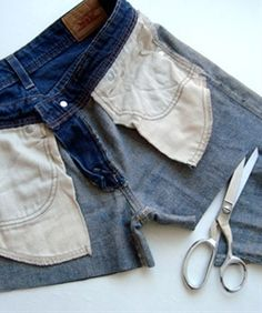 how to properly cut off jeans/pants to make shorts..ill be glad i pinned this later - Click image to find more Hair & Beauty Pinterest pins