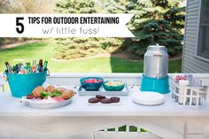5 tips for outdoor entertaining with little fuss