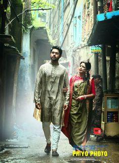 | Bangladesh Groom And Groomsmen, Indian Weddings, Kolkata, Bridal Looks, Bengal, All Fashion, Couple Photography, Slay, Desi