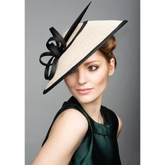 Royal Milliner Rachel Trevor-Morgan - Spring Summer Collection ❤ liked on Polyvore featuring hats and fascinator