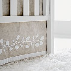 Marlo Crib Bedding Collection for Baby Nursery | Serena & Lily - That crib skirt is gorgeous