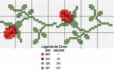 Barrados - Rosa Plaza - Picasa Web Albümleri by mari Mini Cross Stitch, Cross Stitch Heart, Cross Stitch Borders, Cross Stitch Flowers, Cross Stitch Designs, Cross Stitching, Cross Stitch Embroidery, Cross Stitch Patterns, Hand Embroidery Flowers