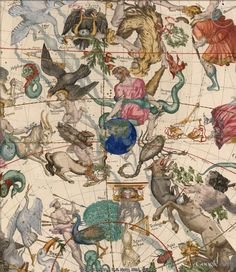 Mapping the Heavens in 1693, from the David Rumsey Historical Map Collection.